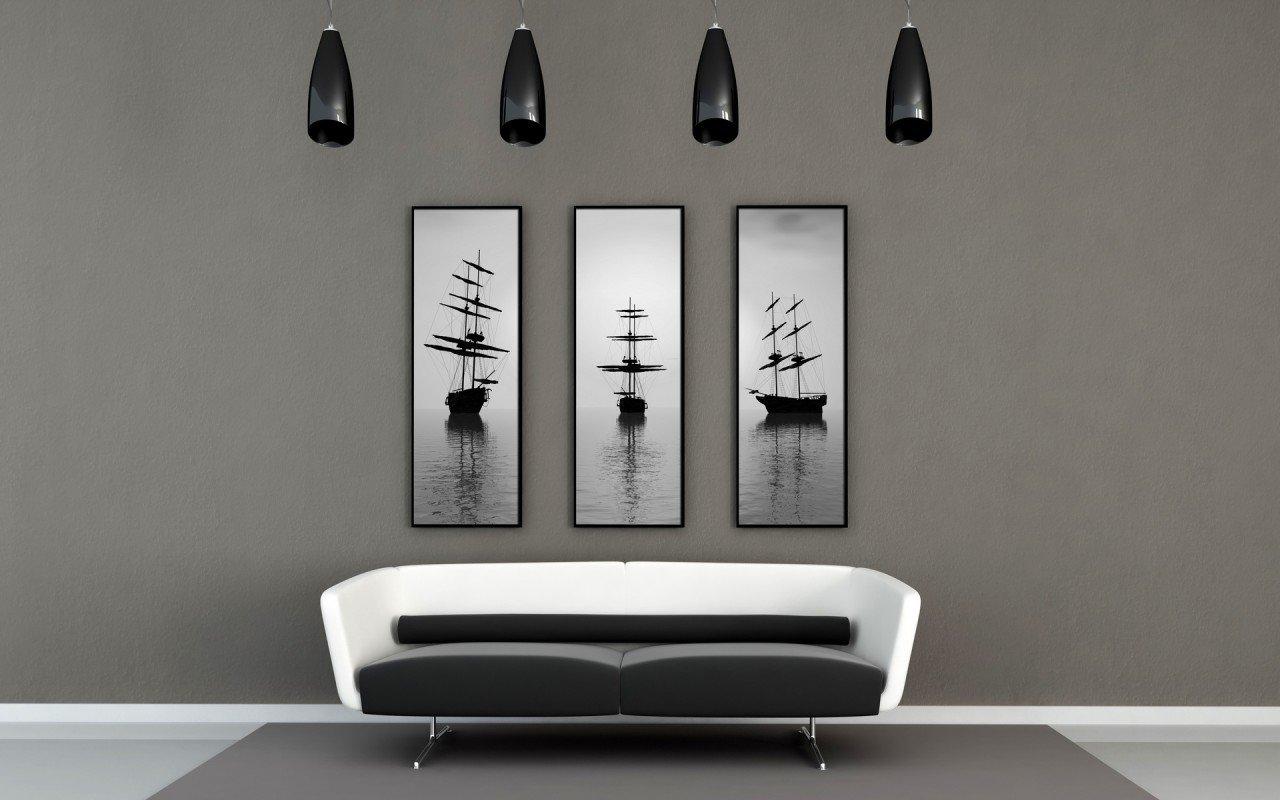 Tableau noir et blanc : pour plus de modernité dans votre intérieur