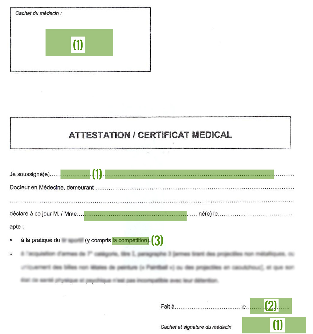 comment faire un certificat medical. Black Bedroom Furniture Sets. Home Design Ideas